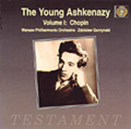 The Young Ashkenazy vol.1 | Testament SBT1045