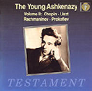 The Young Ashkenazy vol.2 | Testament SBT1046