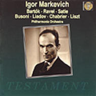 Igor Markevich conducts the Philharmonia | Testament SBT1060