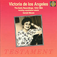 Victoria de los Angeles - The Early Recordings 1942-1953: Lieder and Songs by Handel, Schumann, Brahms, Respighi, Granados etc | Testament SBT1087