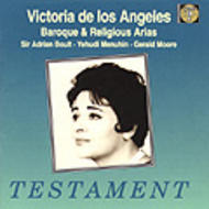 Victoria de los Angeles - Baroque and Religious Arias | Testament SBT1088