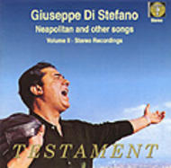 Giuseppe Di Stefano - Neapolitan & other songs | Testament SBT1098
