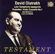 David Oistrakh plays Lalo, Prokofiev & other works | Testament SBT1116