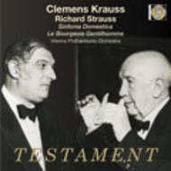 R Strauss - Sinfonia Domestica, Bourgeois Gentilhomme | Testament SBT1184