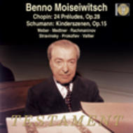 Moiseiwitsch - Piano Recital | Testament SBT1196