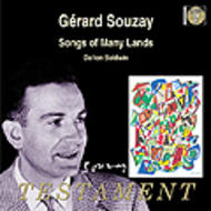 Gerard Souzay - Songs of Many Lands | Testament SBT1207