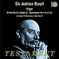 Elgar - Symphony No.1, In the South | Testament SBT1229