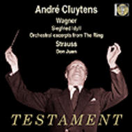 Andre Cluytens conducts Richard Strauss & Wagner | Testament SBT1255