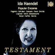 Ida Haendel - Popular Encores | Testament SBT1259