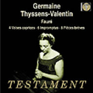 Faure - 4 Valses Caprices, 6 Impromptus, 8 Pieces breves op.84 | Testament SBT1263