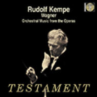 Rudolf Kempe conducts Wagner | Testament SBT1274