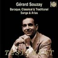 Gerard Souzay - Baroque, Classical and Traditional Songs and Arias | Testament SBT1315