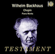 Chopin Piano Works | Testament SBT1335
