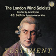 J C Bach - Symphonies for Wind | Testament SBT1345