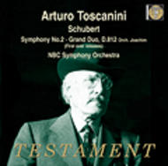 Schubert - Symphony No.2, Grand Duo | Testament SBT1370