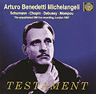 Michelangeli - Recital | Testament SBT2088