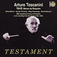 Verdi Requiem | Testament SBT21362