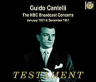 Guido Cantelli - The NBC Broadcasts (January and December 1951) | Testament SBT41336