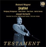 Wagner - Siegfried (Bayreuth 1955 - stereo) | Testament SBT41392