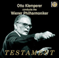 Otto Klemperer conducts the Wiener Philharmoniker | Testament SBT81365